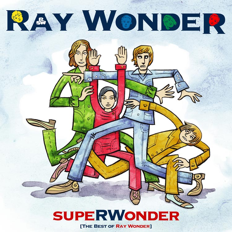 Ray Wonder (レイ・ワンダー) - Superwonder [The best of Ray Wonder] (スーパーワンダー [ザ・ベスト・オブ・レイ・ワンダー]) [PDCD-025]