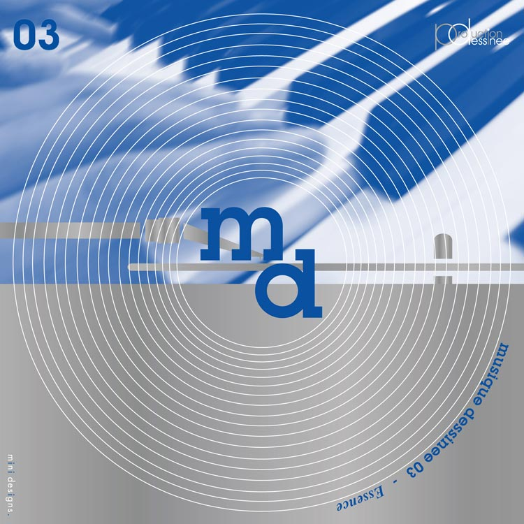 V.A. (Compiled by Masao MARUYAMA) - musique dessinee 03 ~ Essence (ミュージック・デシネ 03 エッセンス) [PDCD-033]