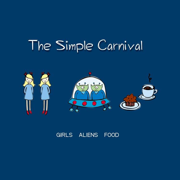 The Simple Carnival (ザ・シンプル・カーニヴァル) - Girls aliens food (ガールズ、エイリアンズ、フード) [PDCD-089]