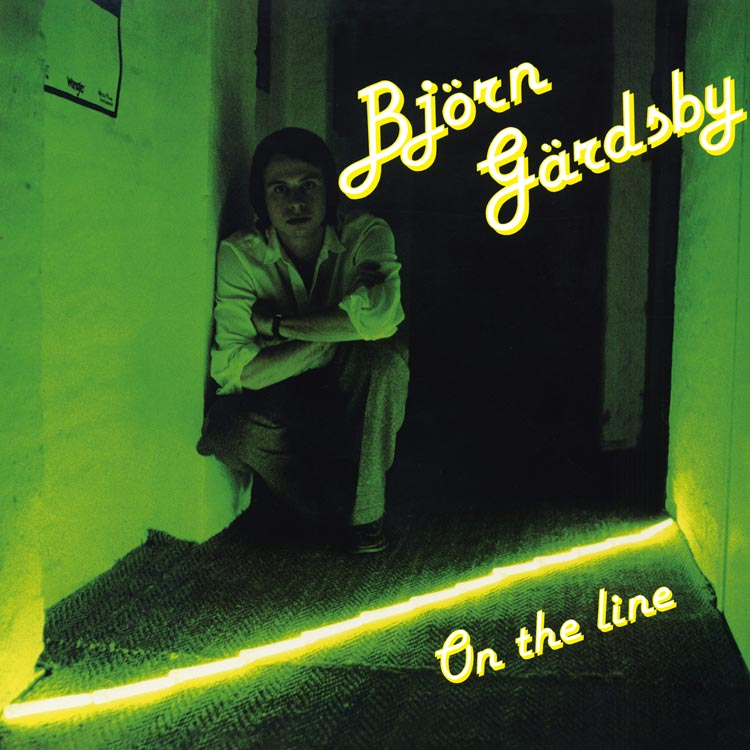 Bjorn Gardsby (ビョルン・ヤーツビー) - On the line (オン・ザ・ライン) [PDCD-094]