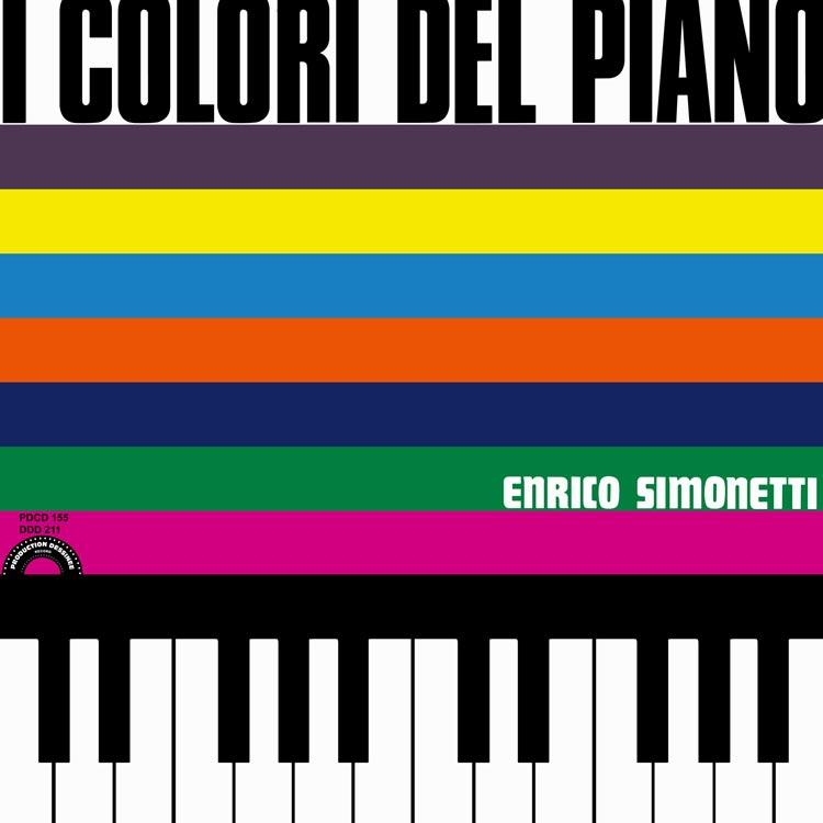 Enrico Simonetti (エンリコ・シモネッティ) - I colori del piano (ピアノの色彩) [PDCD-155]