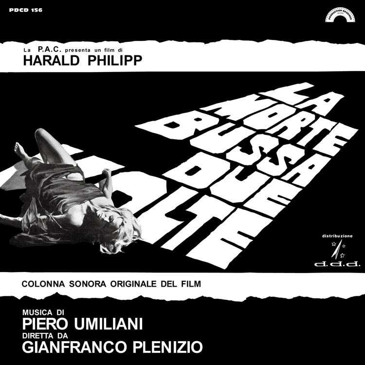 liner notes/解説担当 | PDCD-156 Piero Umiliani – La morte bussa due volte
