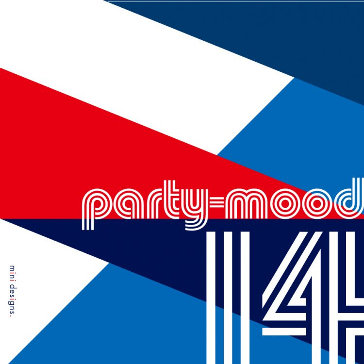 "Mix CD/DJミックス | party-mood 14 ""boogie back – boogie forward"""