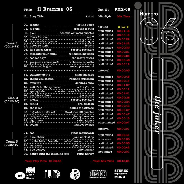 il Dramma 06 [Joker] - Mixed by DJ ilD