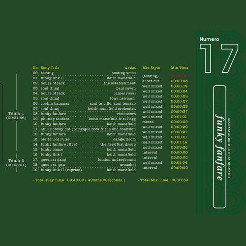 il Dramma 17 [Funky Fanfare] - Mixed by DJ ilD