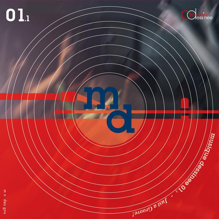 V.A. (Compiled by Masao MARUYAMA) – musique dessinee 01.1 ~ Just a groove! (ミュージック・デシネ 01.1 ジャスト・ア・グルーヴ!)