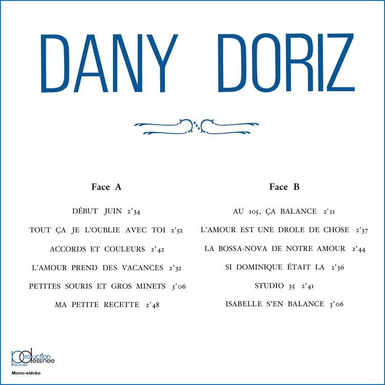 Dany Doriz Son Vibraphone et sa Grande Formation (ダニー・ドリス) - Dany Doriz (ダニー・ドリス) [PDCD-053]