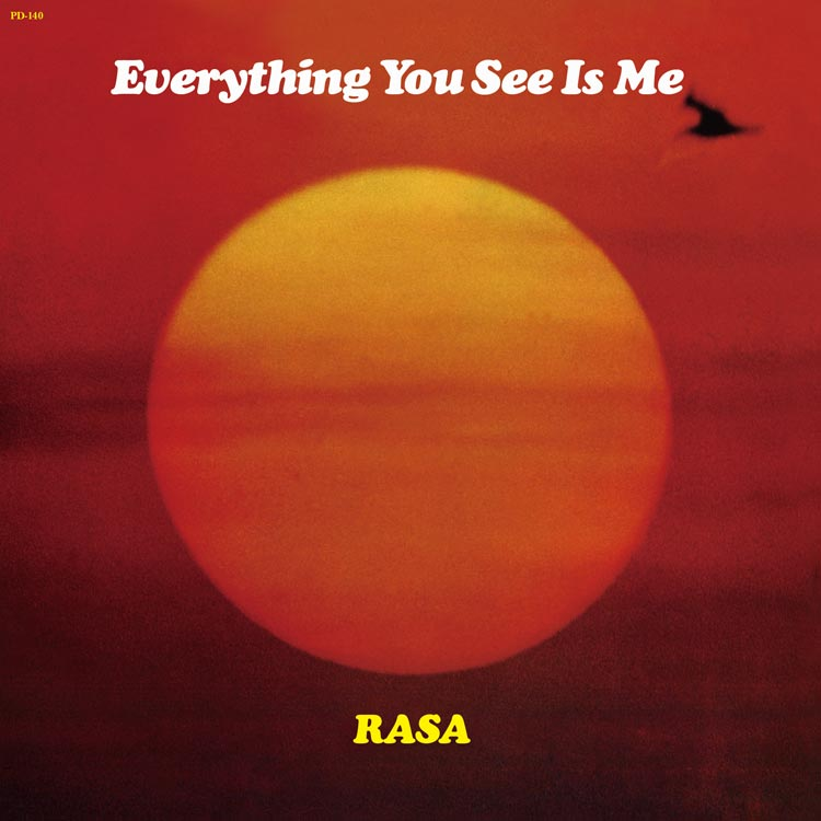 Rasa (ラサ) - Everything you see is me (エヴリシング・ユー・シー・イズ・ミー) [PDCD-140]