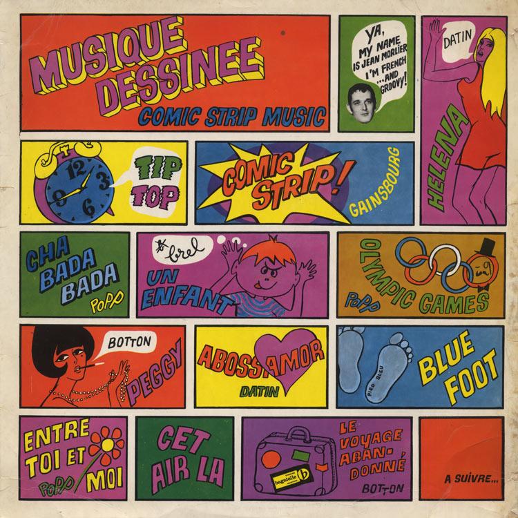 Jean Morlier et Sa Musique Dessinee – Musique dessinee [Comic Strip Music]