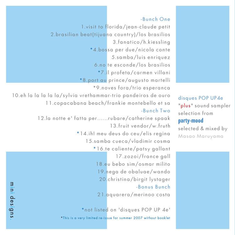 disques POP UP 4e +