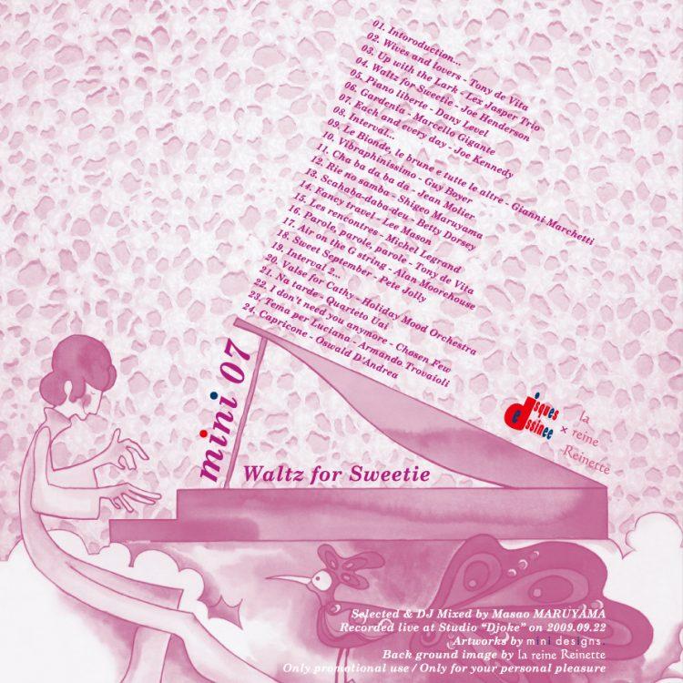 "mini 07 ""Waltz for Sweetie"""