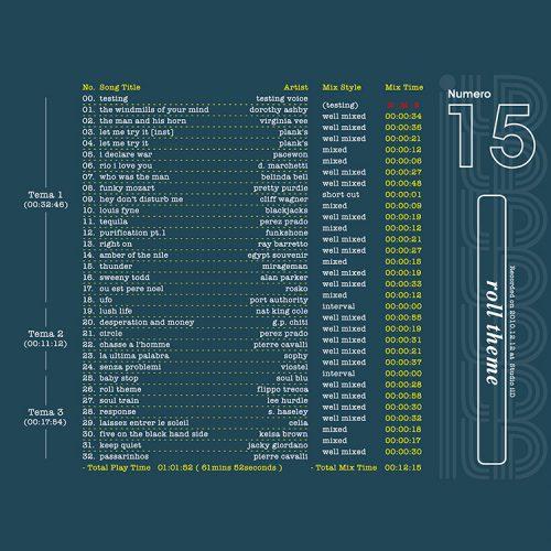 il Dramma 15 [Roll Theme] - Mixed by DJ ill